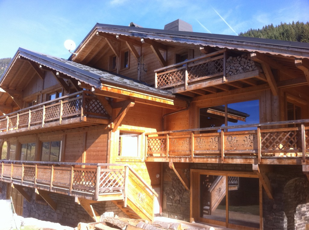 Chalets in valley swiss portes du soleil accommodation booking machine - Chalet en bois swan valley ...
